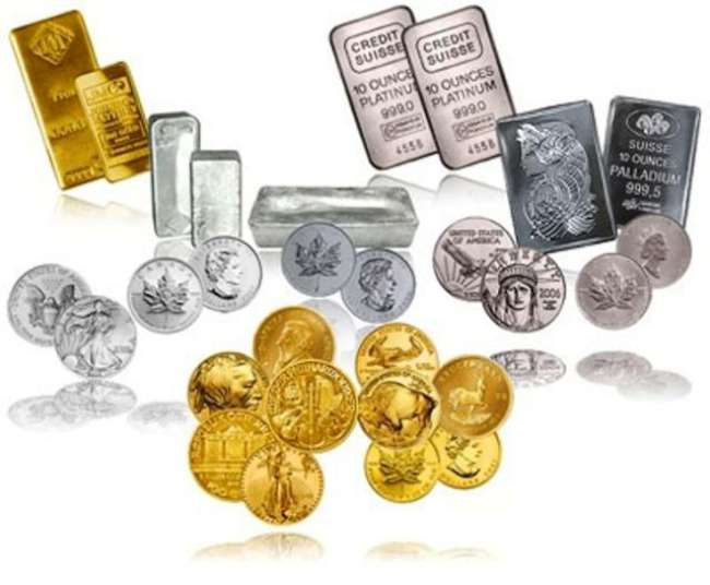 Драгоценные металы и фьючерсы